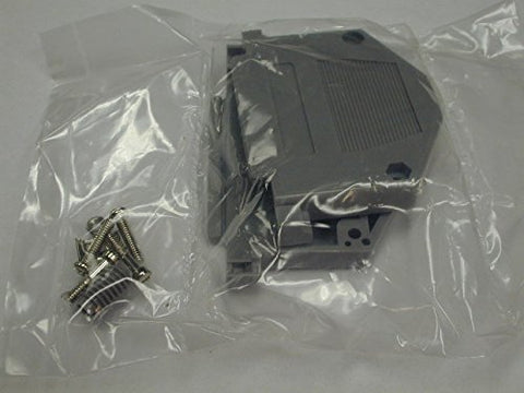Component Express Chhd37pg 37 Cond Rohs Compliant Gray Back Shell for D-sub Connectors 10per Pack