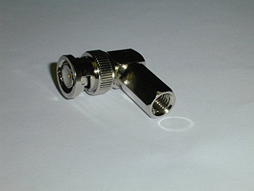 CONNECTOR BNC MALE TWIST ON RG-6 RIGHT ANGLE ( 1 EACH)