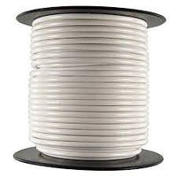 18M-1000-WHITE 18AWG MILW76D TYPE MW WHITE STRANDED (16X30) HOOKUP WIRE 1000 FOOT ROLL 1000V 80C