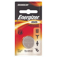Energizer ECR2025BP Electronic Lithium 3V Batteries, Black/Red