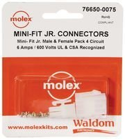 MOLEX 76650-0075 MINI-FIT JR CONNECTOR KIT (1 piece)