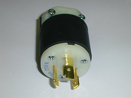 HBL2321 CONNECTOR PLUG 20A 250V TWIST-LOCK L6-20P ( 1 EACH)