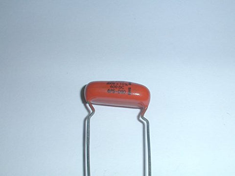 ".008uf 8.0nf 8000pf 600V 10% ""Orange Drop"" Film Capacitors"