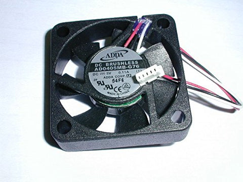 Adda Ad0405mb-g76 5vdc Fan 3 Wire w/ Connector 1pc