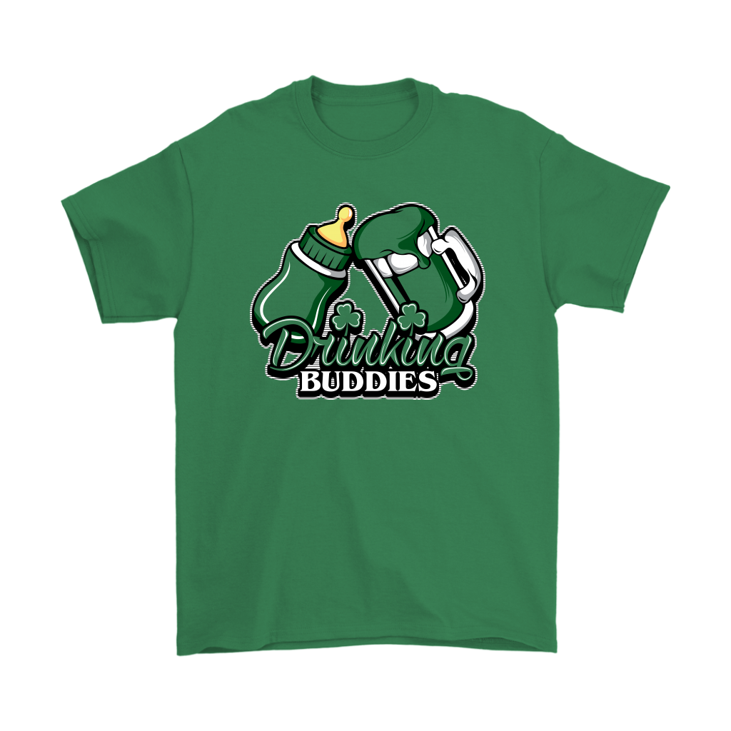 drinking buddies - mug. (adult tee)