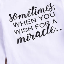 wish for a miracle.