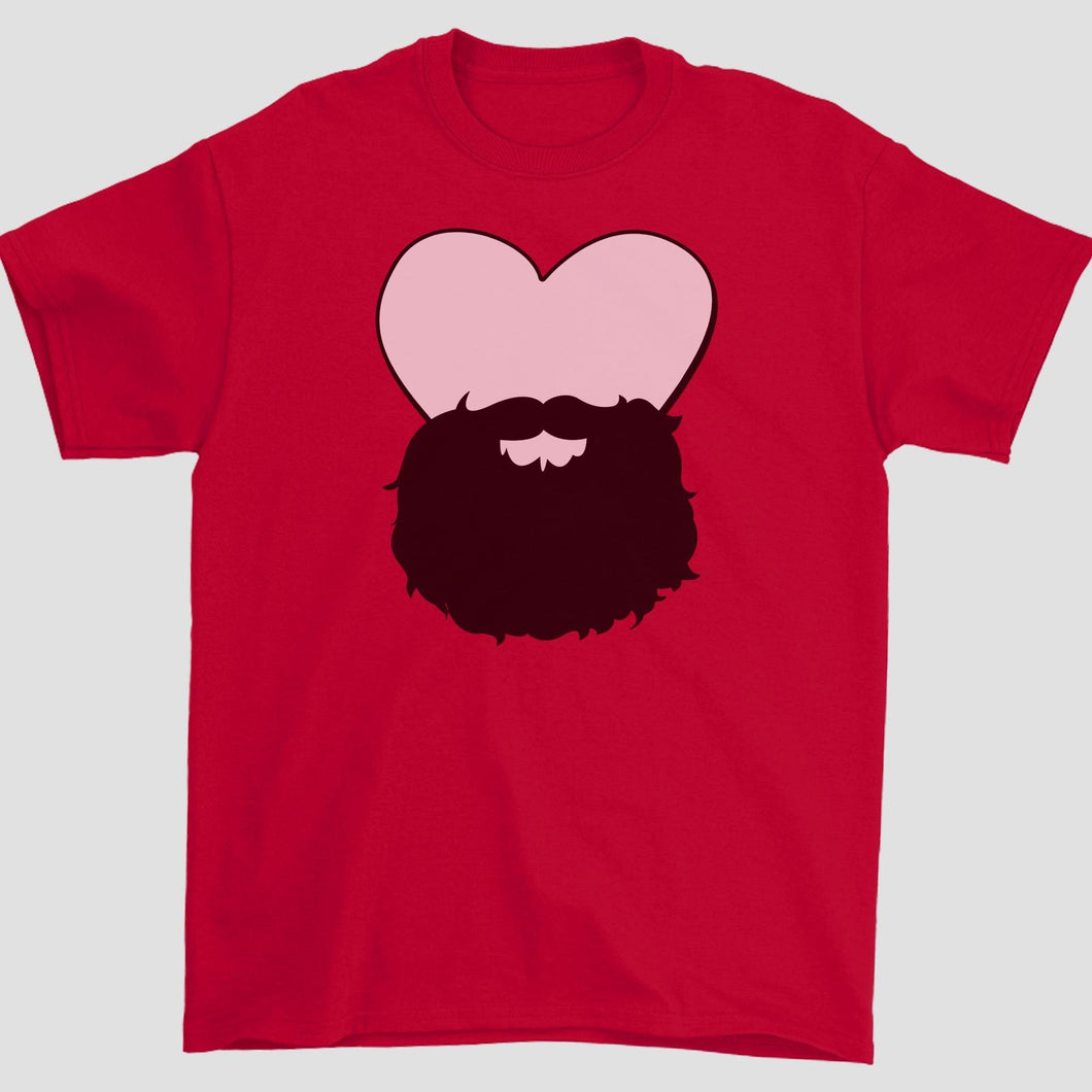 heart family beard. (dads)
