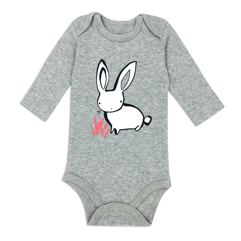 rabbit long-sleeve onesie