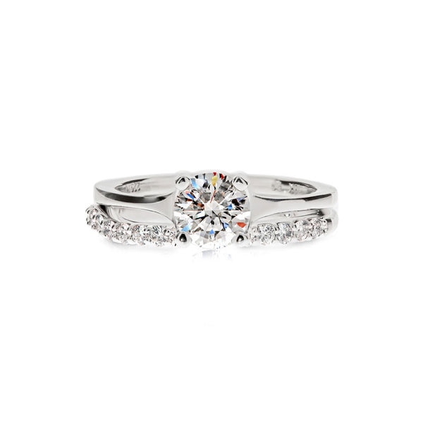 Julianna Forevermark Devotion Cut Diamond Wedding Band