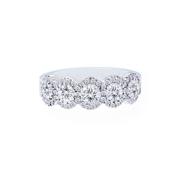 Forevermark 5 Halo Diamond Ring