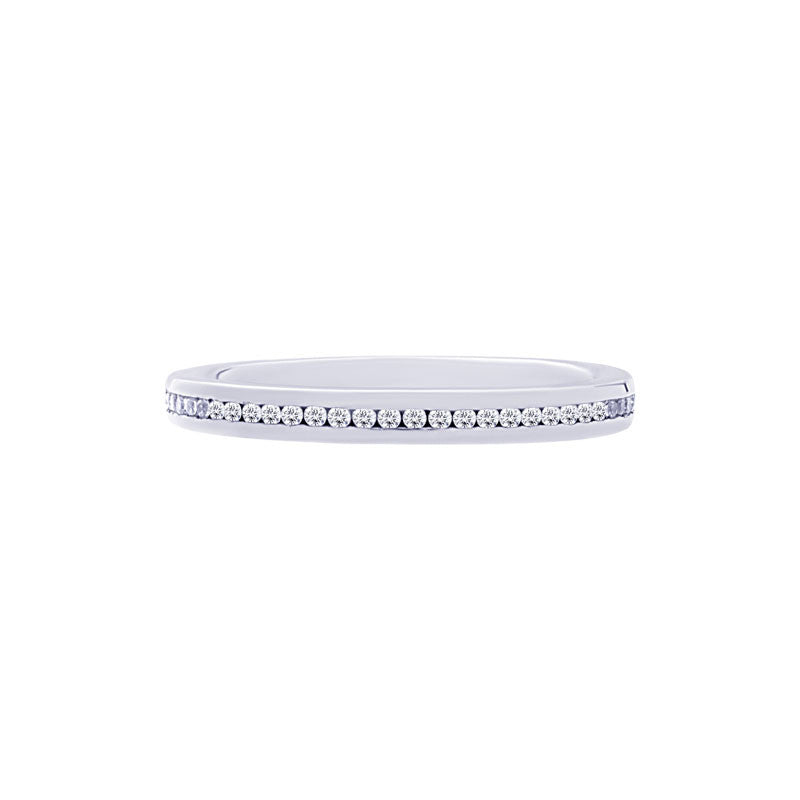 Classic 0.25 Carat Channel-set Diamond Eternity Wedding Band