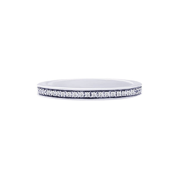 Shared-prong Bead-set 0.25 Carat Diamond Eternity Wedding Band