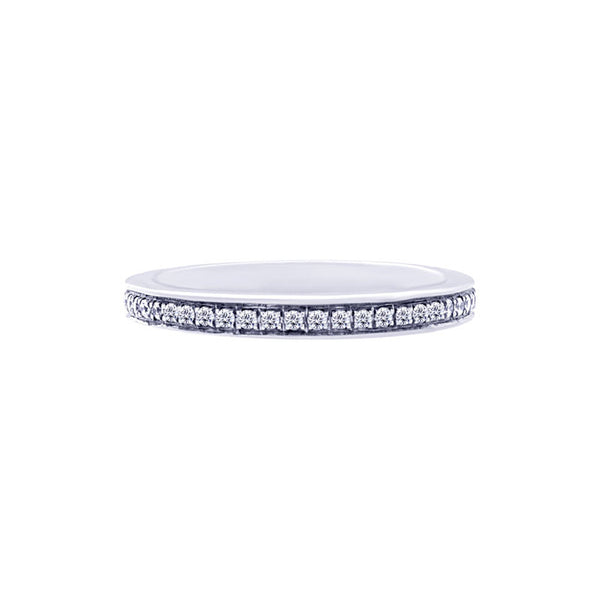 Shared-prong Bead-set 0.30 Carat Diamond Eternity Wedding Band