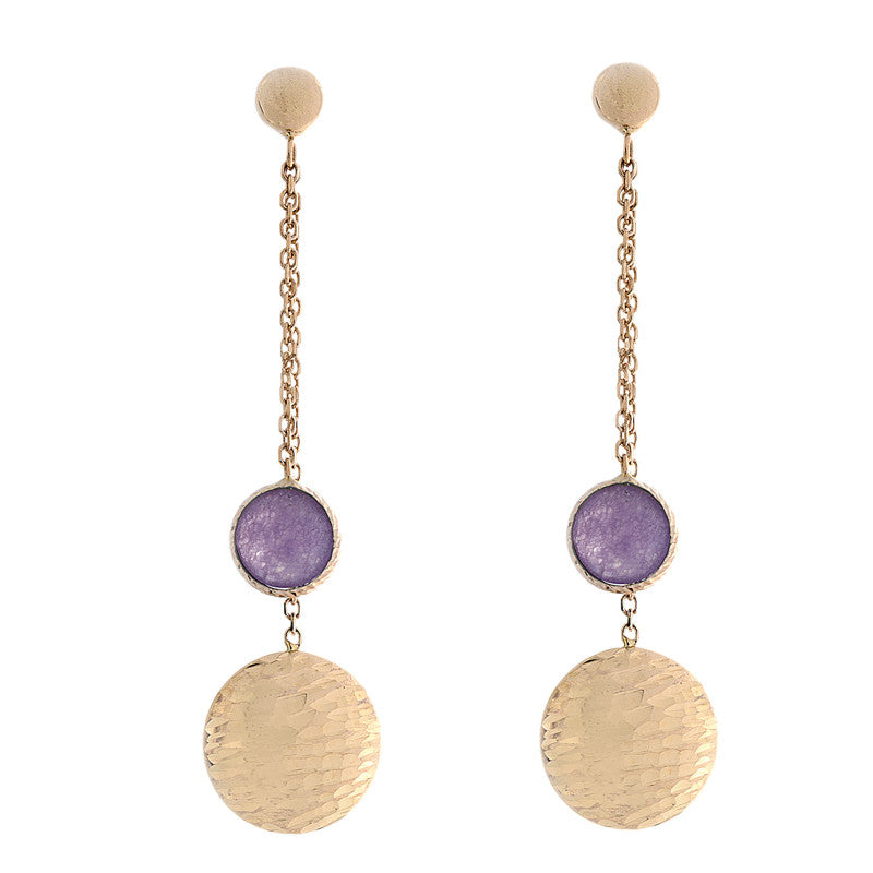 jade bronze finition pearls earrings finish fashion domi oreille violet boucle bijoux en purple fantaisie perles