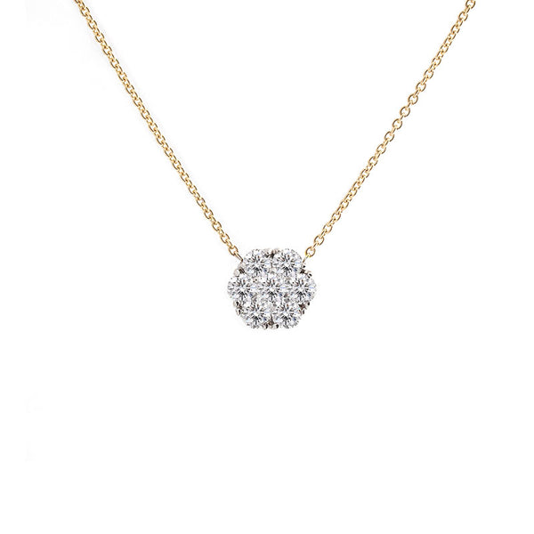 Harmony Jewel Collection Diamond Necklace, 3ct Look