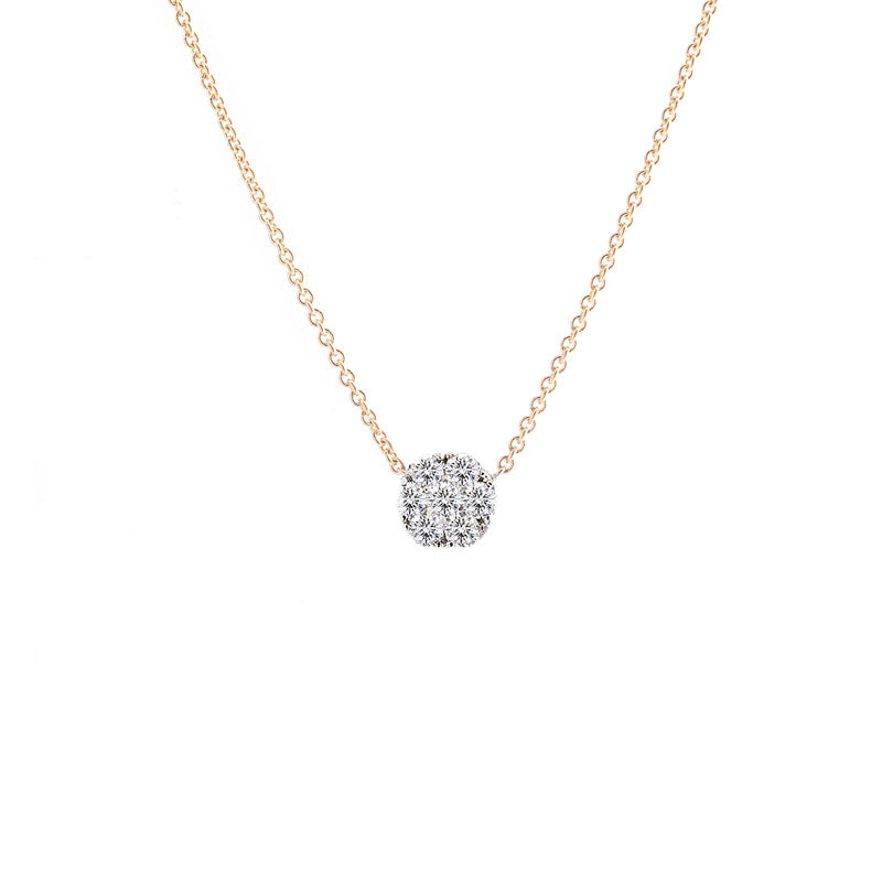 Harmony Jewel Collection Diamond Necklace, 1ct Look
