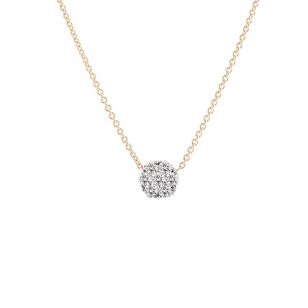 Harmony Jewel Collection Diamond Necklace, 2ct Look