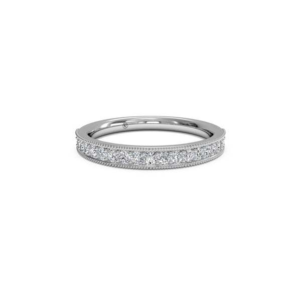 Ritani Ladies Miligrain 0.25 Carat Diamond Wedding Band