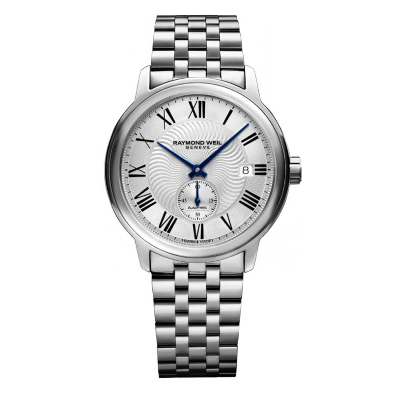 Raymond Weil Maestro Mens Stainless Automatic Watch 2238-ST-00659