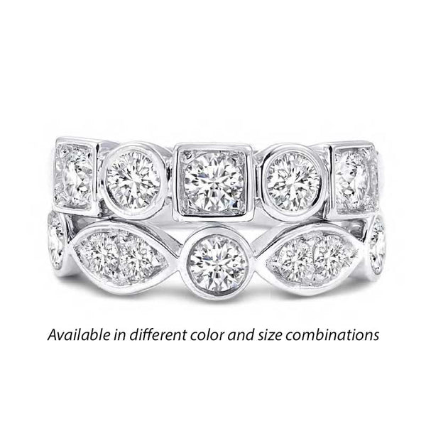 Forevermark Tribute™ Diamond 2 Stack Band Set