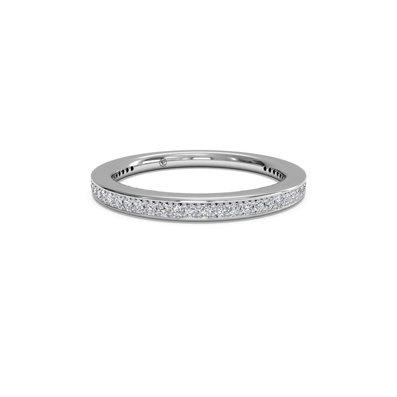 Ritani Ladies Endless Love Miligrain 0.25-Carat Diamond Wedding Band