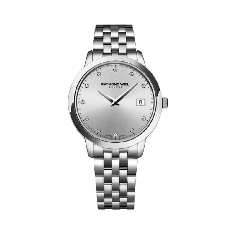 Raymond Weil Toccata Ladies Stainless Diamond Dial Watch 5388-ST-65081