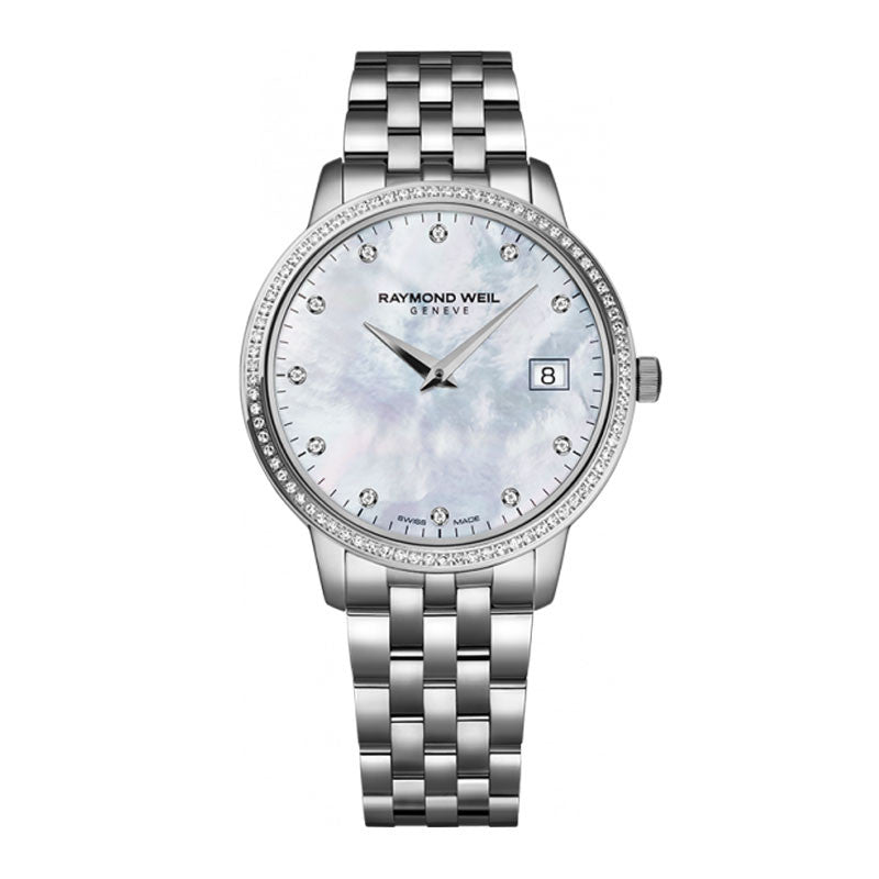 Raymond Weil Toccata Ladies Stainless Diamond Watch 5388-STS-97081
