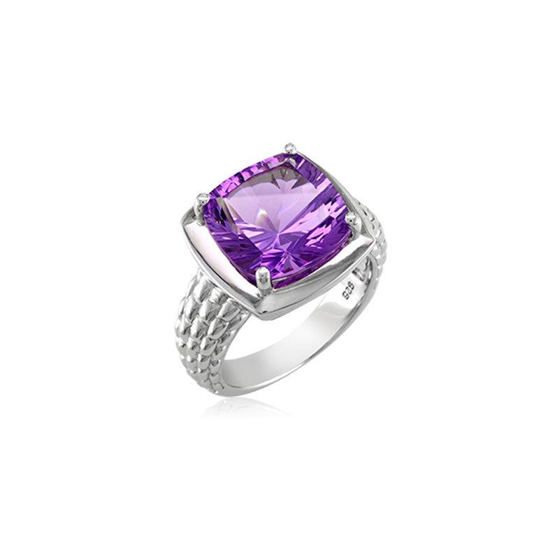 Pietra Collection Amethyst Ring