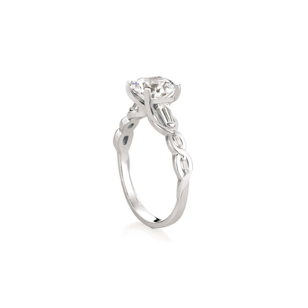 Tobermory Round Brilliant Diamond Engagement Ring