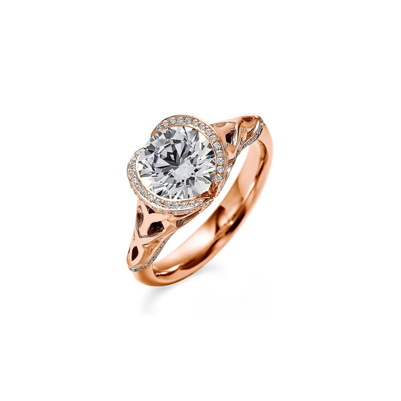 Selkirk Round  Brilliant Diamond Engagement Ring