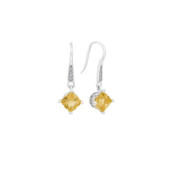 Amelie Citrine Earrings