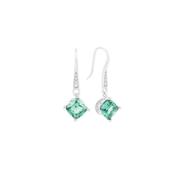 Amelie Green Paraiba Earrings