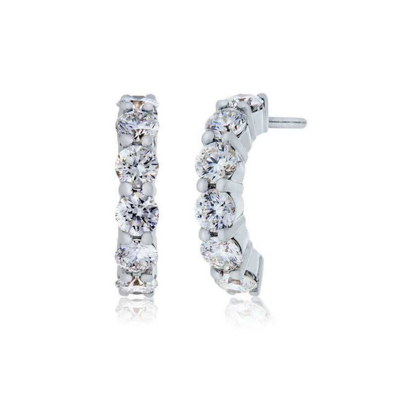 Forevermark Devotion Cut Diamond Drop Earrings