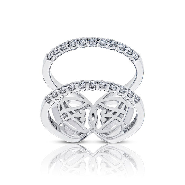 Forevermark Devotion Cut Diamond Double Ring