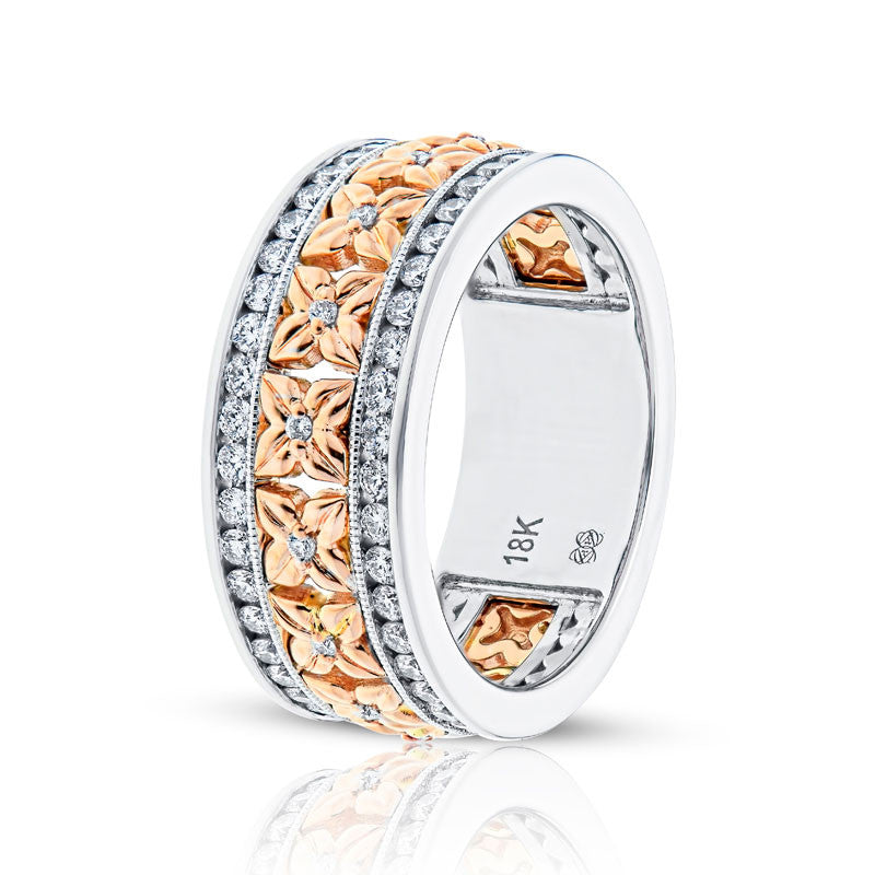 Forevermark Devotion Cut Diamond Floral Band