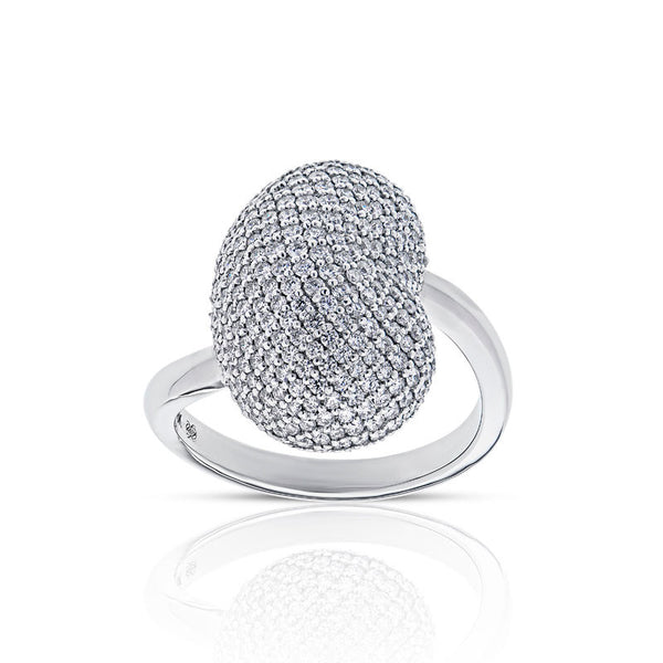 Forevermark Devotion Cut Diamond Kidney Bean Ring