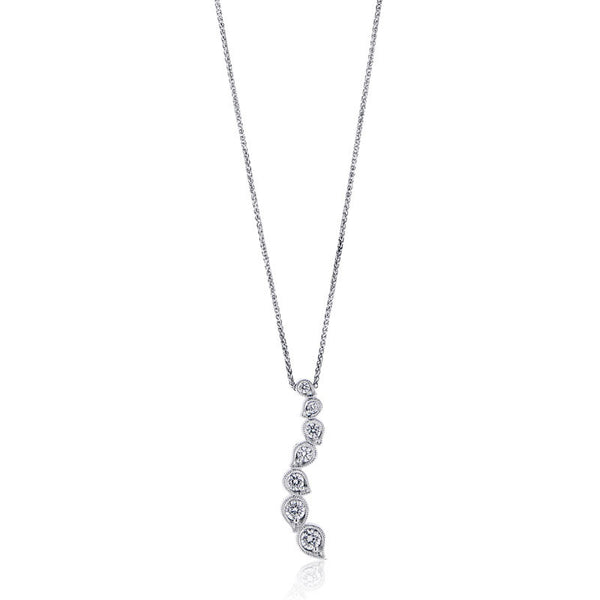 Forevermark Devotion Cut Diamond Petals Pendant