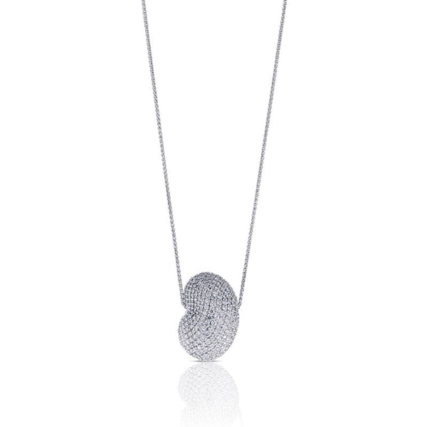 Forevermark Devotion Cut Diamond Kidney Bean Necklace