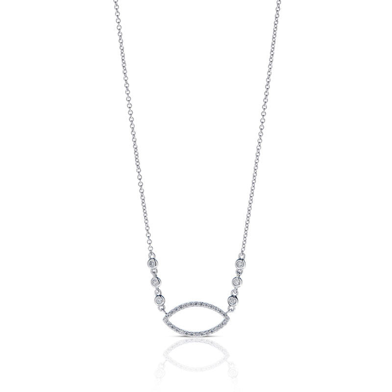 Forevermark Devotion Cut Diamond Necklace
