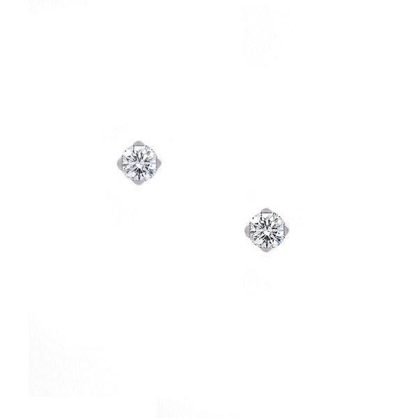 Forevermark Setting Diamond Stud Earring, 0.28 carat