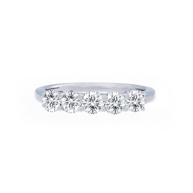 Forevermark 5 Stone Diamond Band