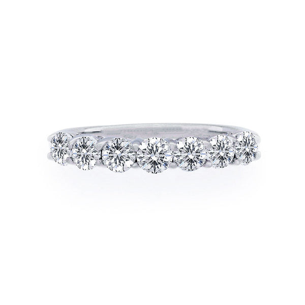 Forevermark 7 Stone Diamond Band