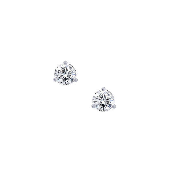 Forevermark Setting Diamond Stud Earring, 0.73 carat