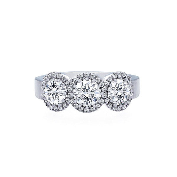 Forevermark 3 Halo Diamond Ring