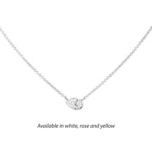 Forevermark Tribute™ Pear Diamond Necklace