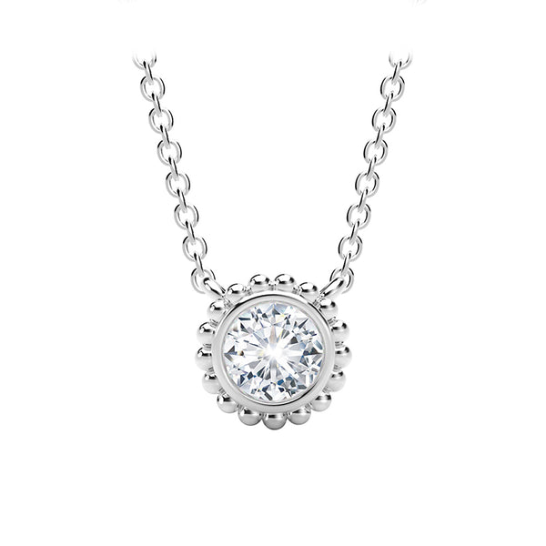 Forevermark Tribute™ Round Diamond Beaded Necklace