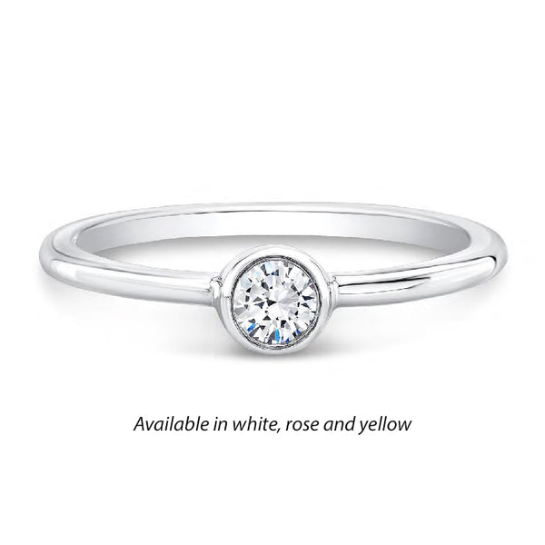 Forevermark Tribute™ Diamond Polished Stack Band
