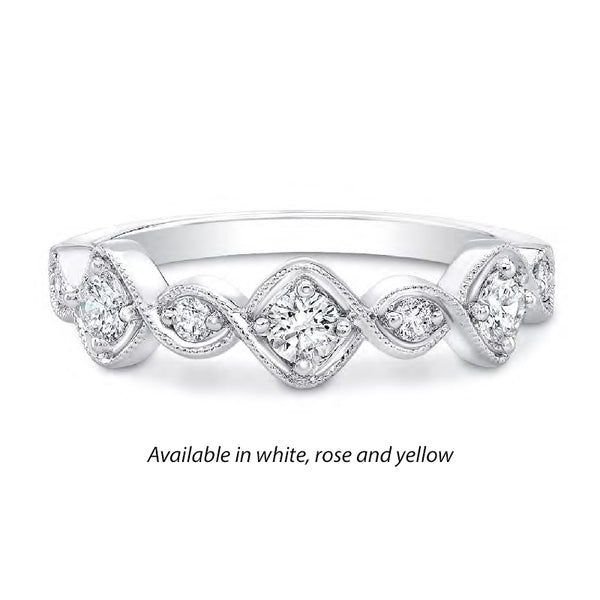Forevermark Tribute™ Diamond Stack Band