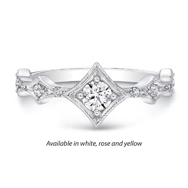 Forevermark Tribute™ On Point Diamond Stack Band