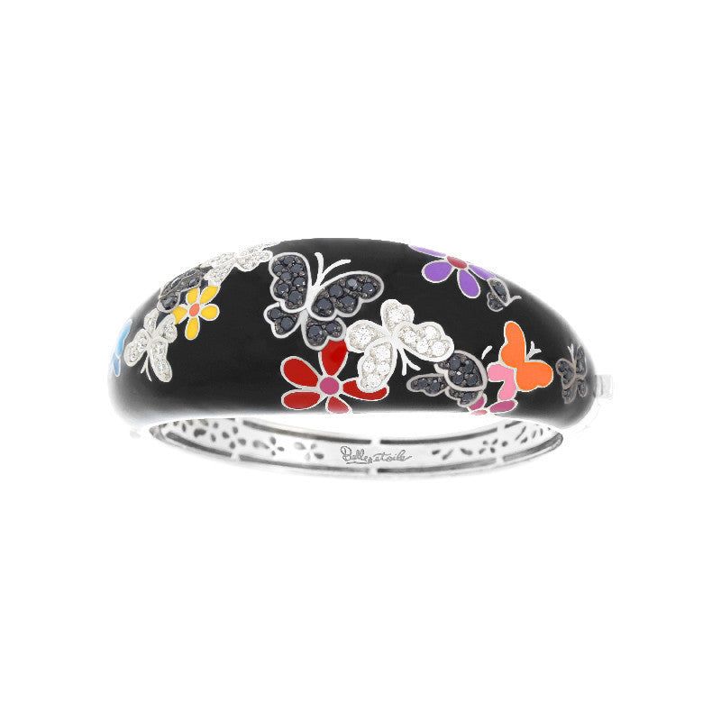 Flutter Black and Multicolor Bangle